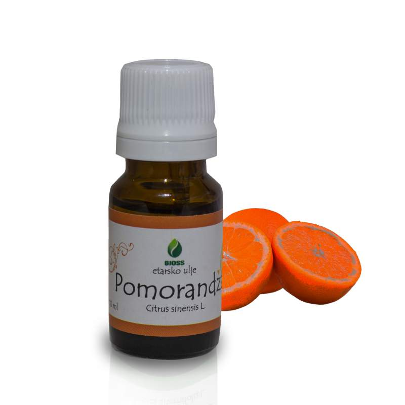 Orange essential oil (Citrus sinensis)