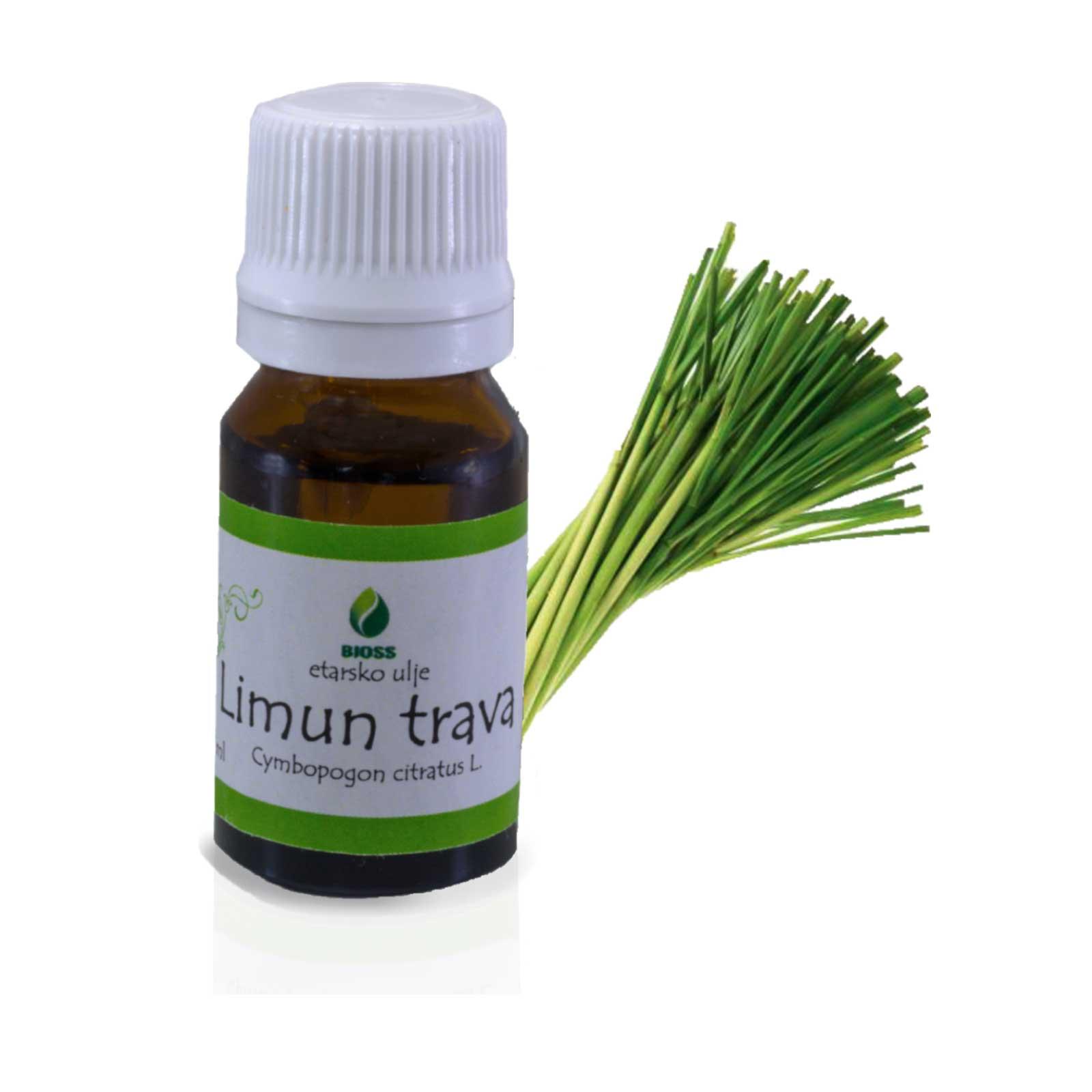 Lemongrass essential oil (Cymbopogon flexuosus)