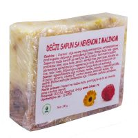 Baby - children's soap with calendula and raspberry