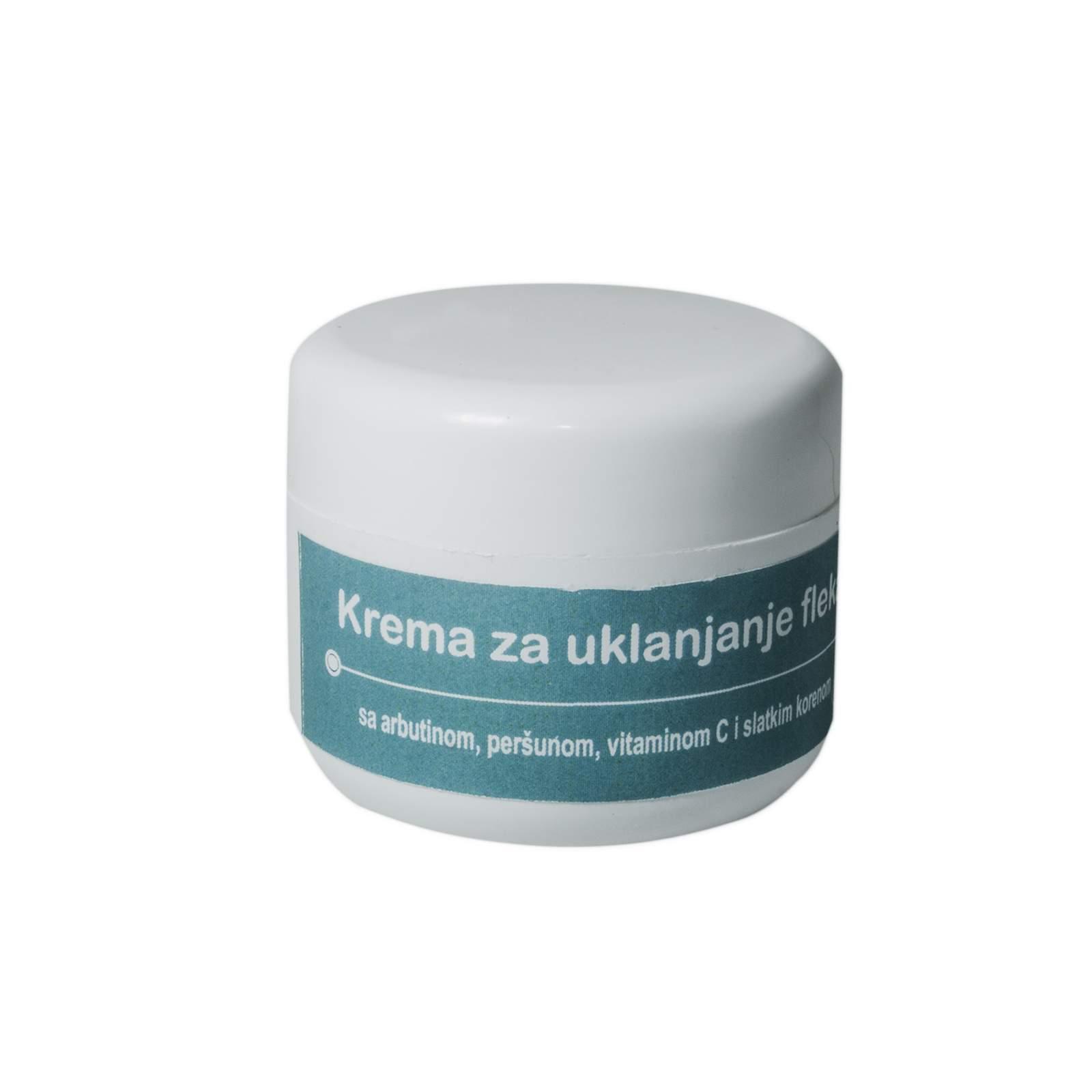 Skin Lightening Cream with Alpha Arbutin, Licorice and Parsley hydrosol